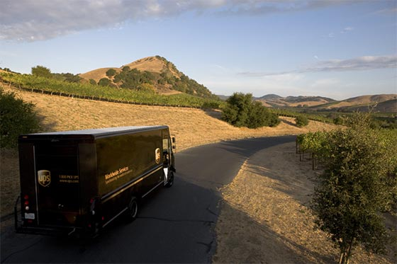 Tecnovino envios de vino UPS 1