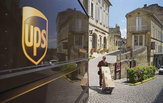 Tecnovino envios de vino UPS detalle
