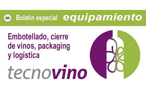 Tecnovino especial embotellado cierre de vinos packaging logistica detalle