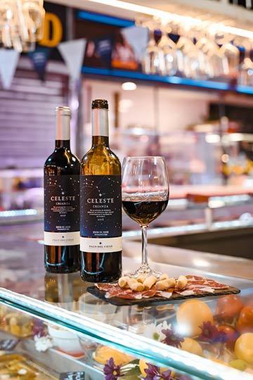 Tecnovino vino Celeste Crianza La Noche de los Mercados 2