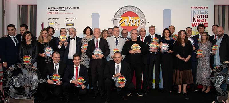 Tecnovino International Wine Challenge Merchant Awards Spain 2019 premiados