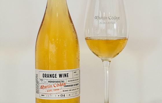 Tecnovino Orange Wine de Martin Codax detalle