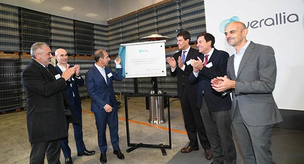 Tecnovino Verallia nuevo horno Burgos inauguracion