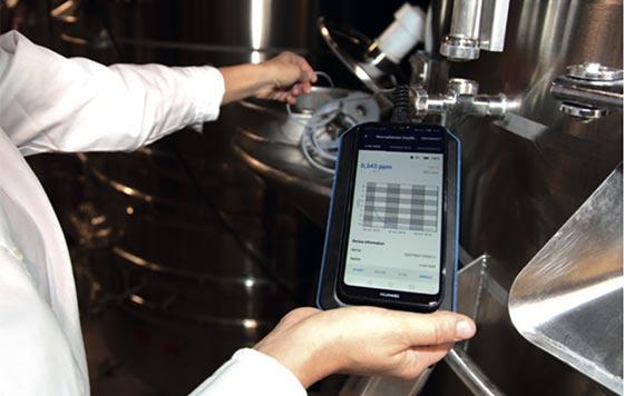 Tecnovino analizadores portatiles para vino Nomasense Oxymeter 1 detalle