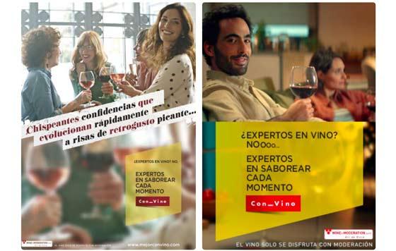 Tecnovino campana Interprofesional del Vino de Espana OIVE detalle