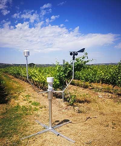 Tecnovino estacion meteorologica agricola Meteus de Isagri 1