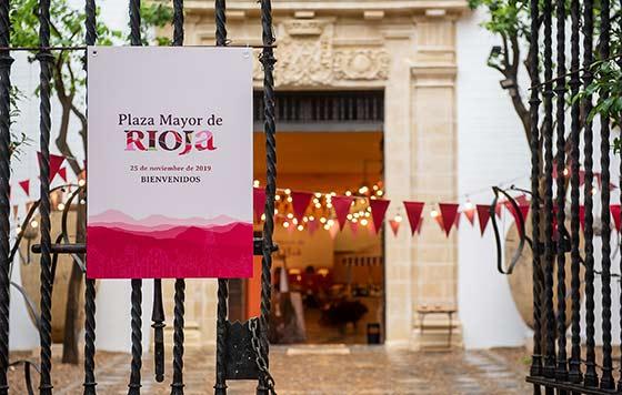 Tecnovino vinos de Rioja Plaza Mayor Rioja Sevilla detalle