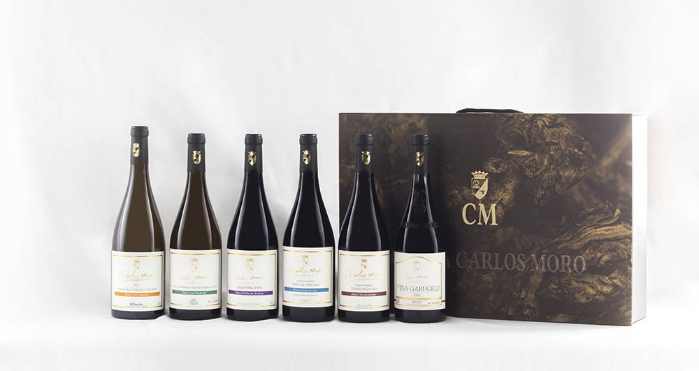 Tecnovino Carlos Moro coleccion vinos de finca