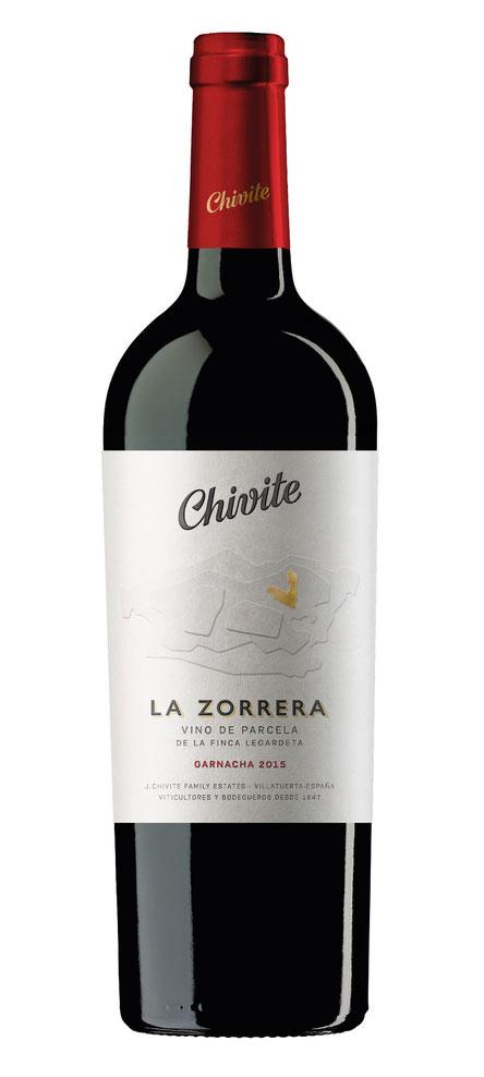 Tecnovino Chivite La Zorrera botella