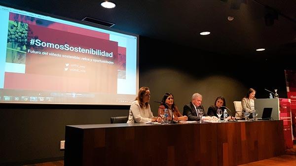 Tecnovino Jornada Somos Sostenibilidad sostenibilidad del sector vitivinicola OIVE PTV 1