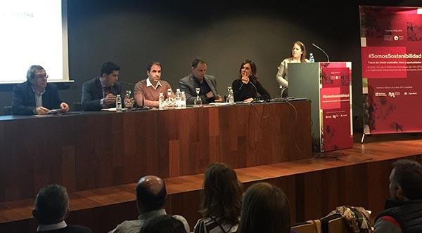 Tecnovino Jornada Somos Sostenibilidad sostenibilidad del sector vitivinicola OIVE PTV 2
