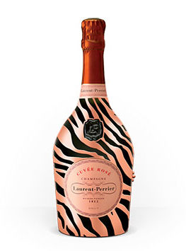 Tecnovino Laurent-Perrier Cuvee Rose botella detalle