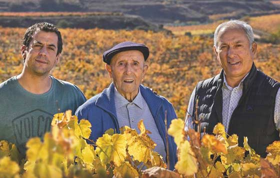 Tecnovino Luis Cañas foto familia