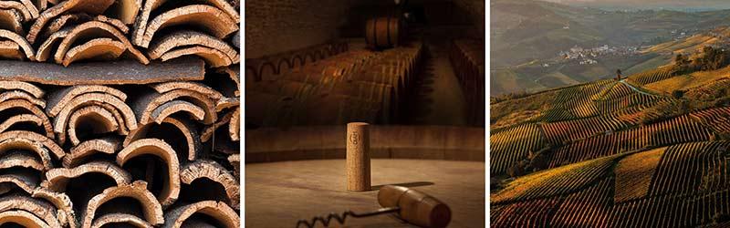 Tecnovino tapon para vino Diam huella de carbono