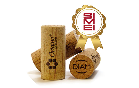 Tecnovino tapon para vinos Origine by Diam premio detalle