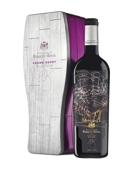 Tecnovino vinos de Marques de Riscal Frank Gehry Selection 2012