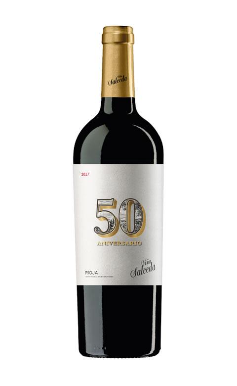 Tecnovino Vina Salceda 50 botella de vino