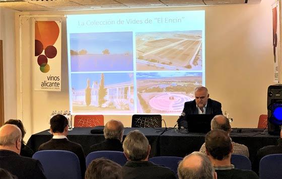 Tecnovino cambio climatico jornada DOP Alicante