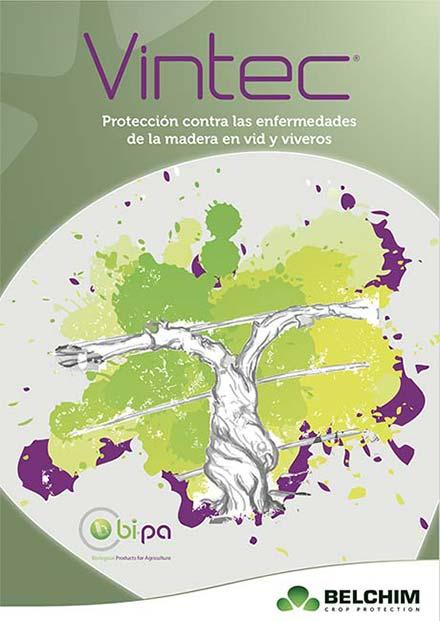 Tecnovino fungicida biologico para enfermedades de la madera de la vid Vintec Belchim 1