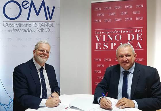 Tecnovino Interprofesional del Vino de Espana acuerdo OeMv