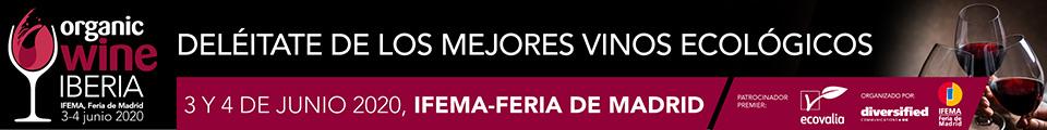 Tecnovino Organic Wine Iberia 2020 banner