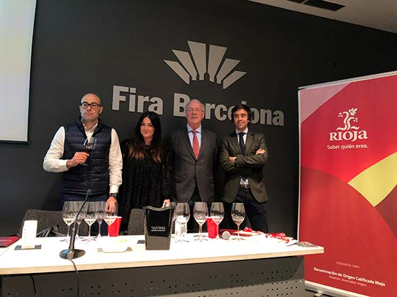Tecnovino diversidad de los vinos de Rioja jornada BWW 2