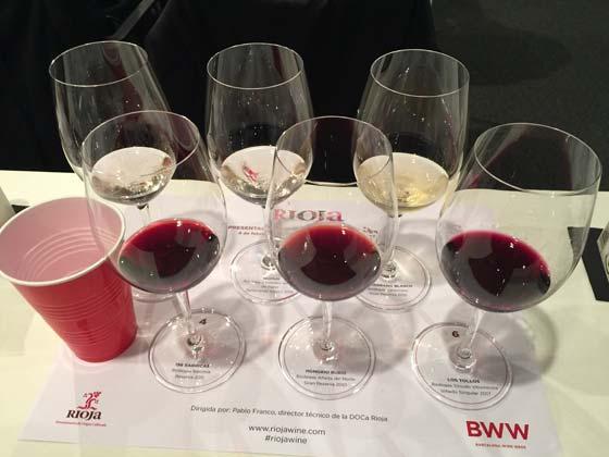 Tecnovino diversidad de los vinos de Rioja jornada BWW 3
