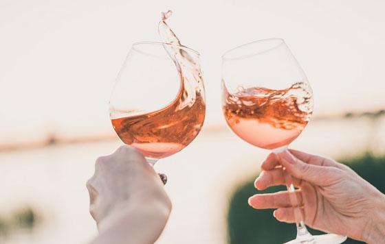 Tecnovino vinos de Valdeorras rosados detalle