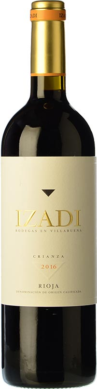 Tecnovino vinos mas vendidos Vinissimus Izadi Crianza