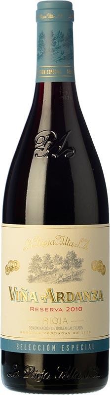Tecnovino vinos mas vendidos Vinissimus Vina Ardanza Reserva