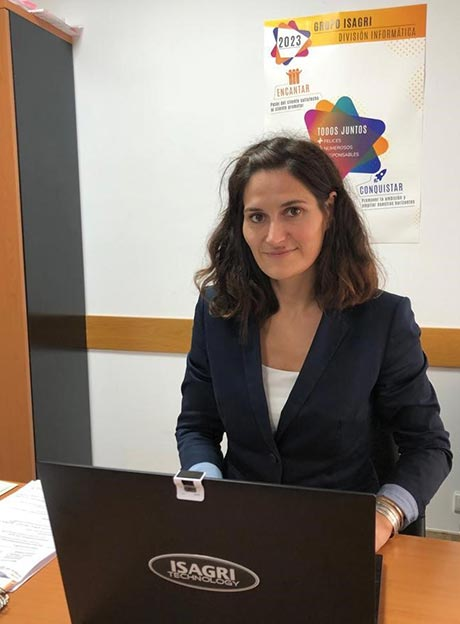 Tecnovino Emilie Maigre gerente ISAGRI