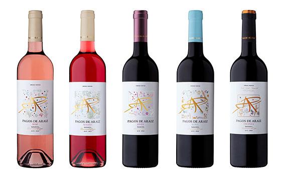 Tecnovino Pagos de Araiz gama de vinos