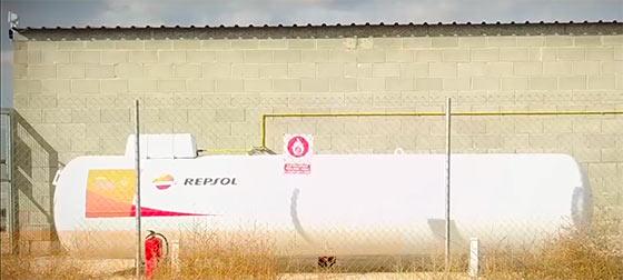 Tecnovino gas propano para bodegas Care Repsol