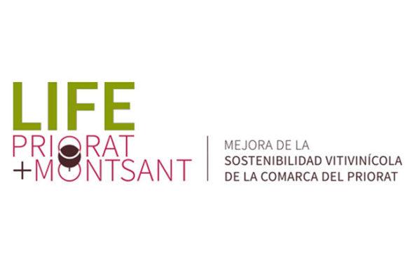 Tecnovino Proyecto Life Priorat + Montsant logo detalle