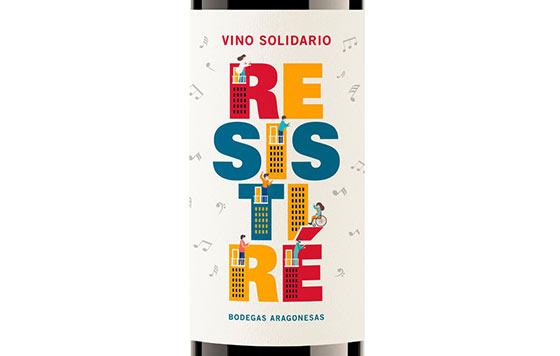 Tecnovino vino Resistire de Bodegas Aragonesas detalle
