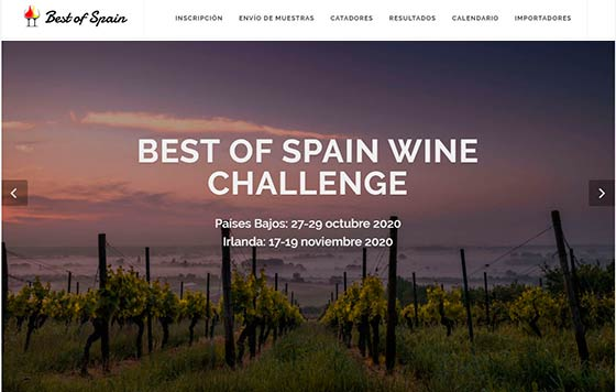 Tecnovino Best of Spain Wine Challenge 2020 web detalle