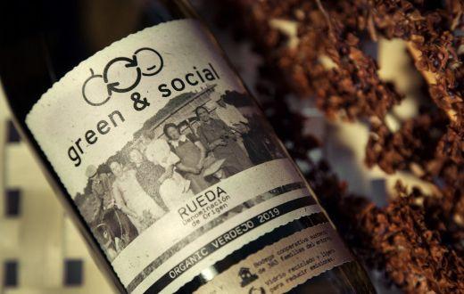 Tecnovino Green & Social Verdejo detalle etiqueta