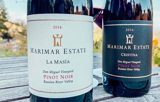Tecnovino club de vinos de Marimar Torres detalle vinos