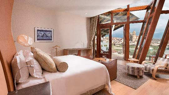 Tecnovino destinos por Booking Marques de Riscal Suites 2
