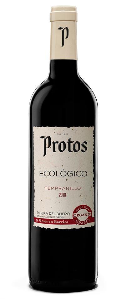 Tecnovino vinos ecologicos de Bodegas Protos Tempranillo