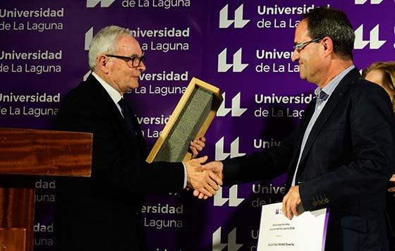 Tecnovino Premios Enogastroturismo de la Universidad de La Laguna galardón 2019