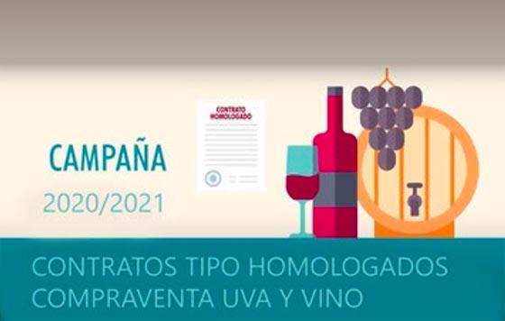 Tecnovino compraventa de uva y vino contratos homologados OIVE detalle