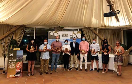 Tecnovino mejores vinos de Valdeorras 2020 premiados detalle
