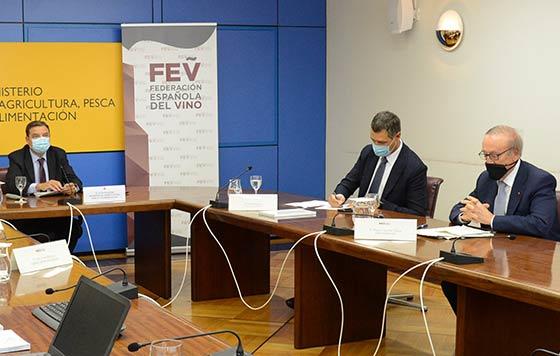 Tecnovino Federación Española del Vino asamblea Emilio Restoy detalle