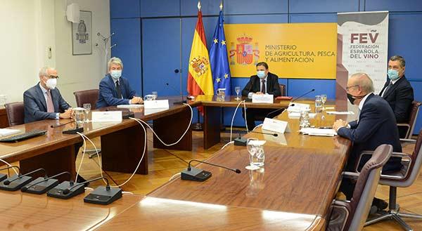 Tecnovino Federación Española del Vino asamblea Emilio Restoy 2
