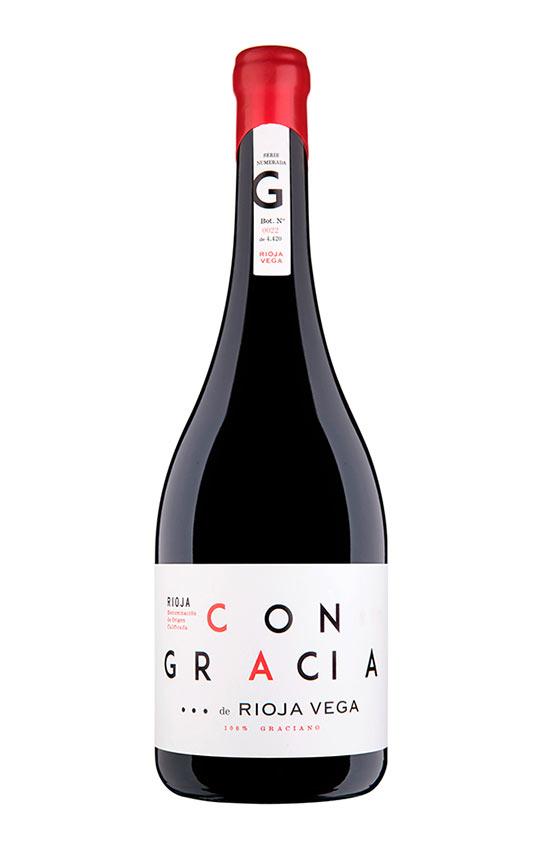 Tecnovino graciano de Rioja Vega Con Gracia botella