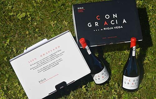 Tecnovino graciano de Rioja Vega Con Gracia detalle