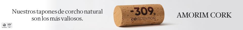 Amorim. Nuestros tapones de corcho natural son los más valiosos. CO2 Retention. Natural.