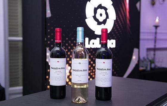 Tecnovino Vino Fútbol Marqués del Atrio