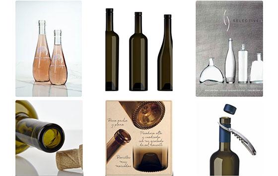 Tecnovino envases de vidrio para vino detalle